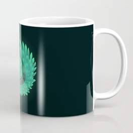 Green wings/owl Coffee Mug