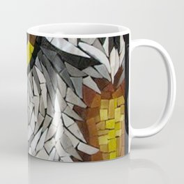 Owl Mosaic Coffee Mug