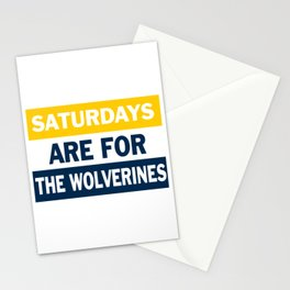 Michigan Saturdays Stationery Cards