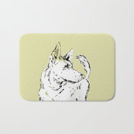 Howl Along Bath Mat