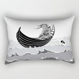 Death At Sea Rectangular Pillow