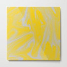 Yellow Sky Metal Print