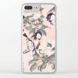 Spring Rain Clear iPhone Case