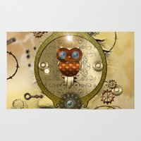 steampunk Area & Throw Rugs featuring Steampunk  by nicky2342