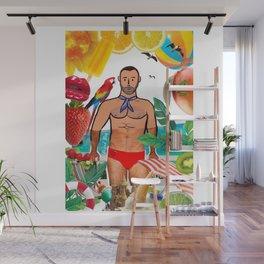 Beard Boy: Tutti Frutti Wall Mural