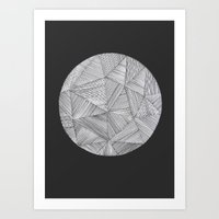 planet Art Prints featuring Planet by Hedda Hultman