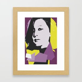 Lim Framed Art Print