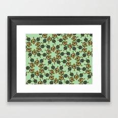 Swirling Artichokes Framed Art Print