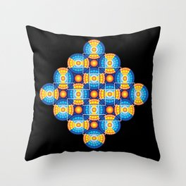 Microphysical 06.2 Throw Pillow