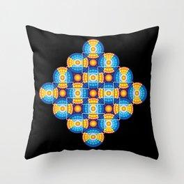 Microphysical 06.2 Throw Pillow
