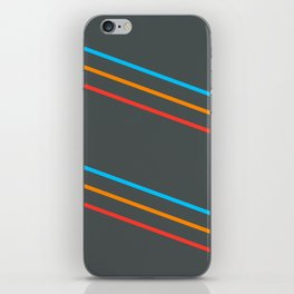 Space Stripes iPhone Skin