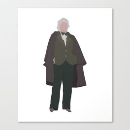 Third Doctor: Jon Pertwee Canvas Print