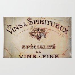 Vins & Spiritueux Rug