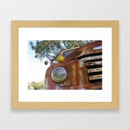 Rustic Bedford @ Happy Hooves Farm Sanctuary Australia Framed Art Print