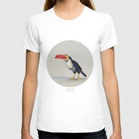 toucan T-shirts featuring TOUCAN by Dinosaur Design