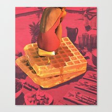 WAFFLE Canvas Print