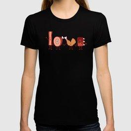 Meat Love U T-shirt