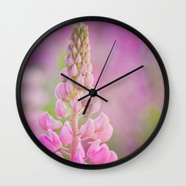 In the garden, my soul is sunshine Wall Clock