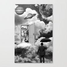 Black & White Collection -- Heaven's Door  Canvas Print