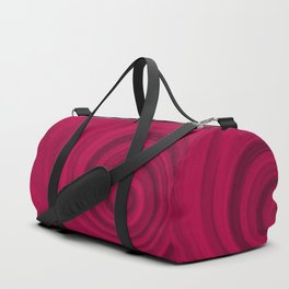 Red abstract pattern Duffle Bag