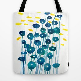 The Mermaid's Wineglasses Tote Bag