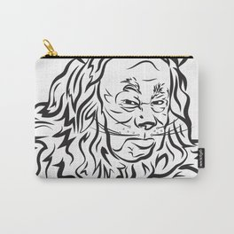Face The Lion Carry-All Pouch