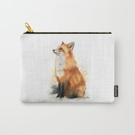 Fox Watercolor Red Fox Painting Carry-All Pouch