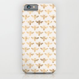 Honey Bees (Sand) iPhone Case