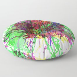 Colour Expression / Color Expression Floor Pillow