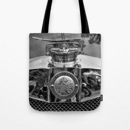 Lea Francis Radiator Cap - Monochrome Tote Bag