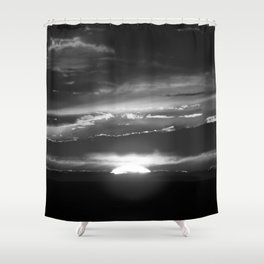Black and White Delight Shower Curtain