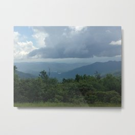 Appalachian Clouds Metal Print