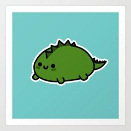 Little Dino Art Print