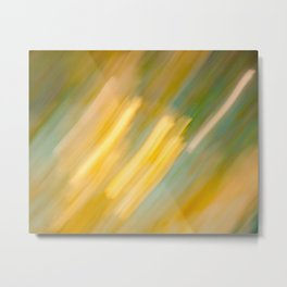 Ancient Gold and Turquoise Texture (variation) Metal Print