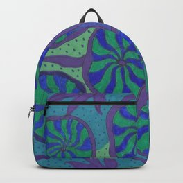 Blue Ocean Groove Backpack