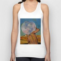 atlas Tank Tops featuring Atlas by Michael Creese