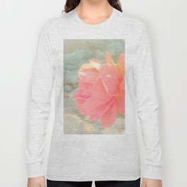 Romantic rose decor Long Sleeve T-shirt