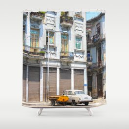 Old city II Shower Curtain