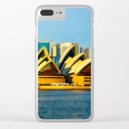 Sydney Clear iPhone Case