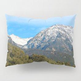Watercolor Landscape, North Crestone Trail 01, Colorado Pillow Sham