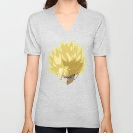 Gohan super saiyan ultimate form Unisex V-Neck
