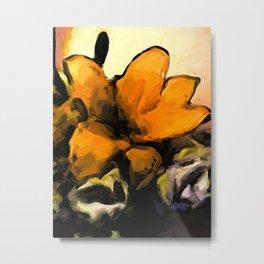 Flowers of Yellow 2 Metal Print