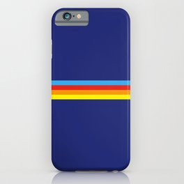 Lakshmi - Classic Retro Summer Stripes iPhone Case