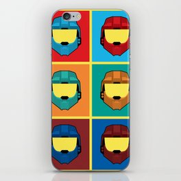 Warhol's Red vs Blue iPhone Skin
