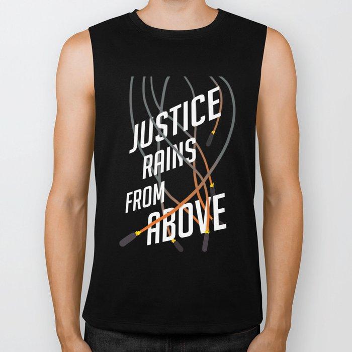 Justice Rains! Biker Tank