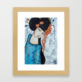 Geisha Girl #2 Framed Art Print