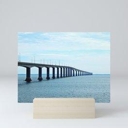 Under the Bridge and Beyond Mini Art Print