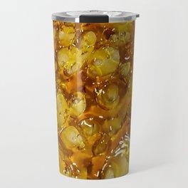 Golden Shatter Travel Mug