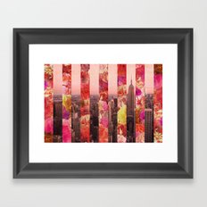 N/Y/C Framed Art Print