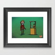 #34 - Escape from Monkey Island Framed Art Print